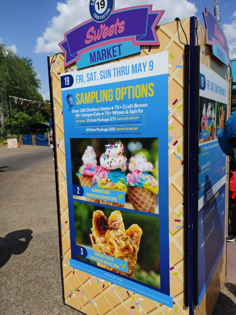 SeaWorld 2021 Seven Seas Festival is outstanding. There are so many drink and food options you will have to come back several times!!