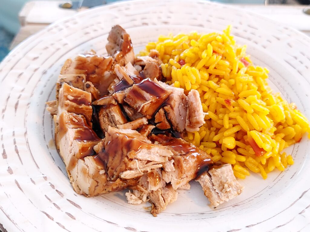 pork crockpot balsamic and brown sugar