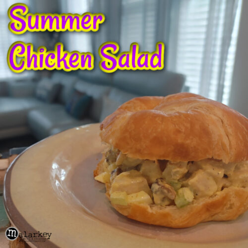 summer chicken salad recipe