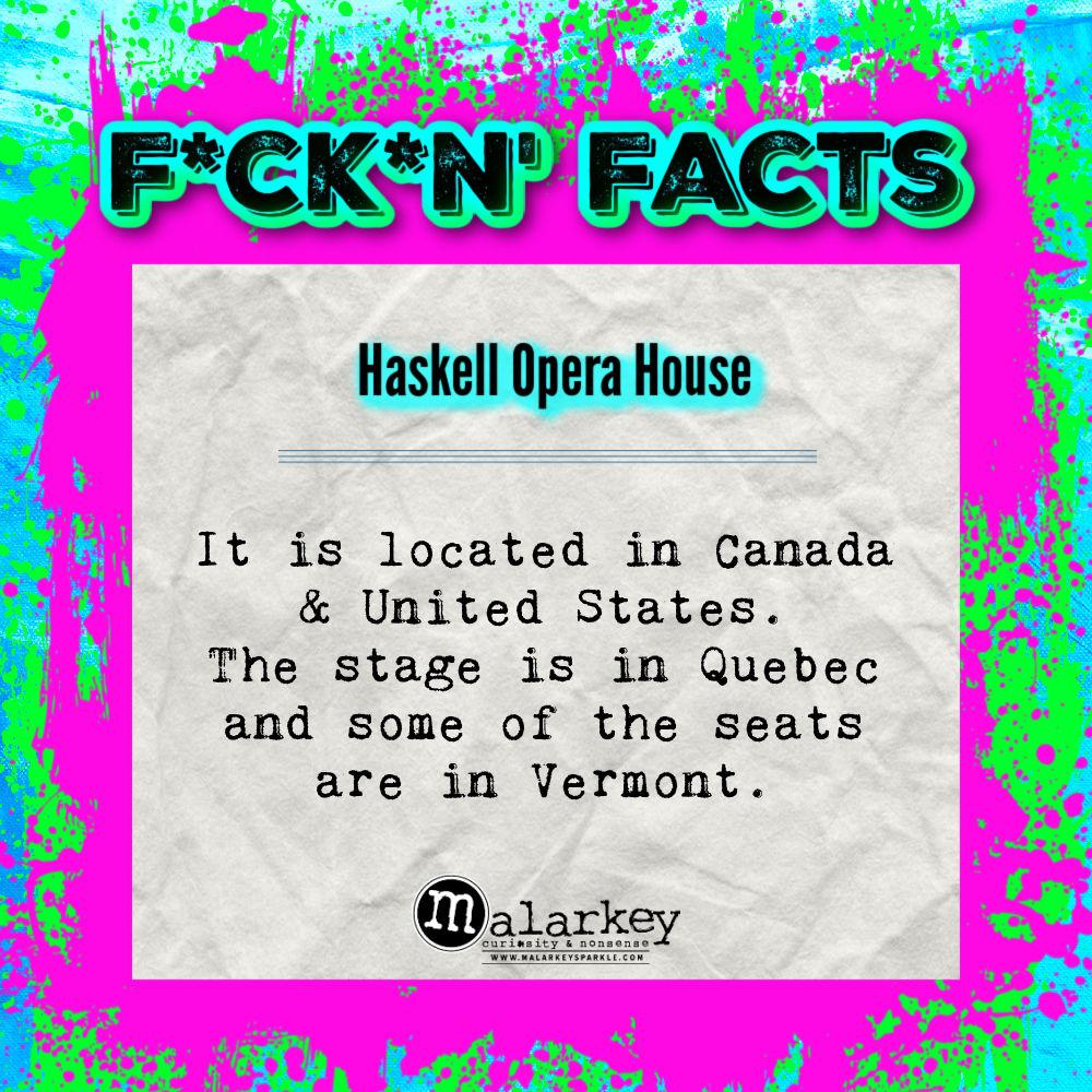 fucking facts - opera house