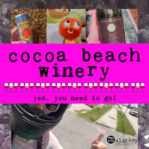 cocoa beach winery